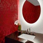 Newly Re-Designed Presidential Suite Half Bath