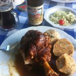 Pork Knuckle and Dunkel, Delicious!!!