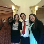 Us with the wonderful Restaurant Manager Ali