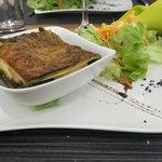 Lasagne chevre epinard