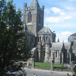 Christchurch Cathedral, Dublin, from our hotel room.