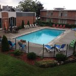 Very nice outdoor pool.