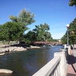 Riverwalk Near Siena