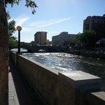 Riverwalk Looking Toward the Siena