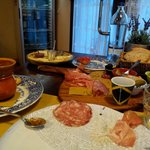 antipasto toscano per due
