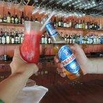 beach bar. love Sue & Karen & Queen