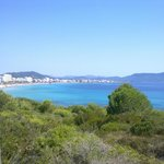 view of Cala Millor (25 minute walk from S'illot)