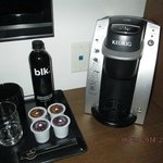 in room coffee station