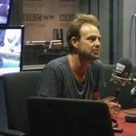 Jason Donovan on air at Radio BBC WM