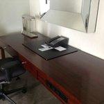 I LOVE a large desk area!