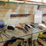 Prisoner's makeshift weapons