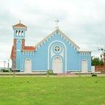 Vista externa da igreja
