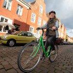 Hoch zu Fahrrad durch's Holländerviertel