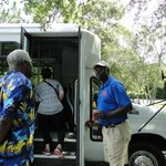 Our guide for the Gullah tour