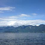 view from boat trip to Bowen Island