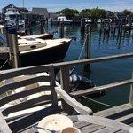 Breakfast on the wharf