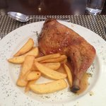 Dinner - chicken & chips
