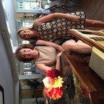 Ann general manager & I at The Hedges Inn