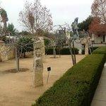 Front Courtyard Sculpture Garden.