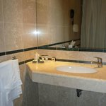 Bathroom was spacious and clean