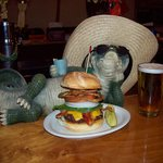 Burgers made with Gound Angus Sirloin!