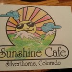 Fun coloring at the  Sunshine Cafe!!