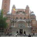 Westminster Cathedral entrance.