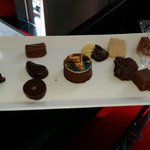 Complimentary: A nice tray of chocolates and biscuits