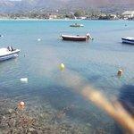 The beautiful beach of Roda