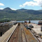 End of the line at Kyle of Lochalsh