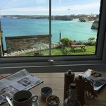 Cliff House's view from my breakfast table
