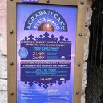 Agrabah Cafe Menu June 2014