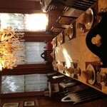 Communal breakfast table