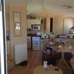 awesome caravan - very clean and spacious
