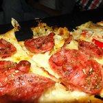 Pizza deliciosa en dogma!