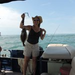 Flounder caught