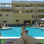 Questo è il relax di cui si gode al Park Hotel Serena......:-)