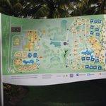 Paradisus map