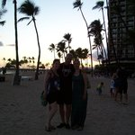On the Beach at Hilton Hawaiian Village