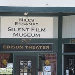 Good Place to See A Silent Movie - Niles Essanay Silent Film Museum, Fremont, CA