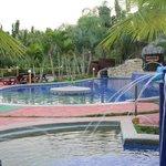 Pool area - with kiddie pool