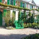 Monet's house just like a dolls house - beautiful