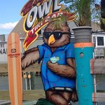 Big Owl's Tiki bar