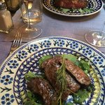 tagliata beef and florentine steak