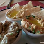 Trio Hummus - $8.50