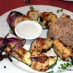 Chicken Kebob Dinner - $16.00