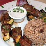 Beef Kebob Dinner - $20.00
