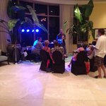 Live music in lobby. Awesome!