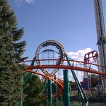 The Corkscrew, Power Tower, Wild Thing and Extreme Swing