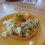 Yummy fish tacos @Coconuts Fish Cafe